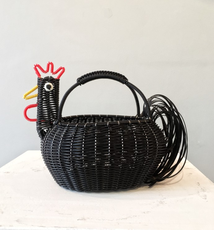 Mexican Artisan Collective, Medium Chicken Black