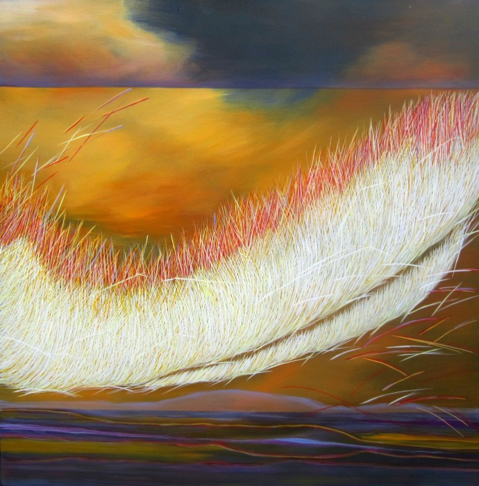 Yvonne Mills-Stanley, Grass Memories VI, 2014