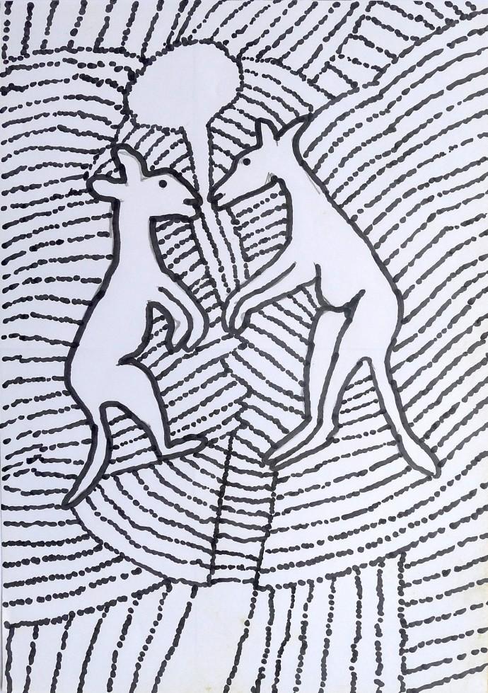 Jimmy Pike, Two kangaroos