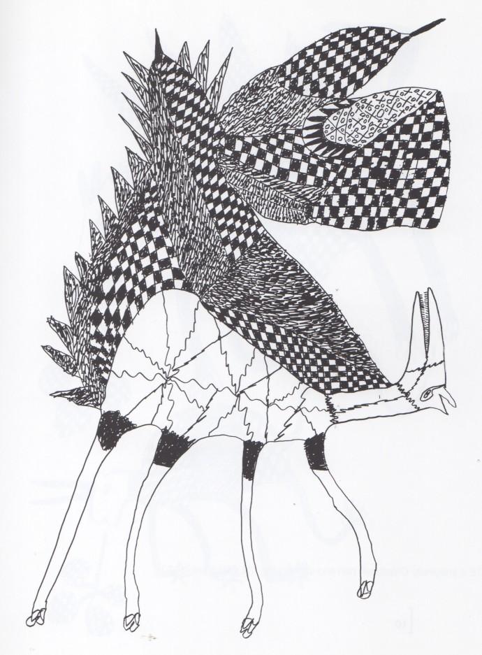 Mathias Kauage, Winged Horse, '70