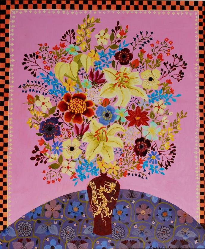 <div class=&#34;artist&#34;><strong>Hepzibah Swinford</strong></div><div class=&#34;title&#34;><em>White Lilies</em>, 2014</div><div class=&#34;medium&#34;>oil on board</div><div class=&#34;dimensions&#34;>62 x 52 cm<br>24 3/8 x 20 1/2 in</div>