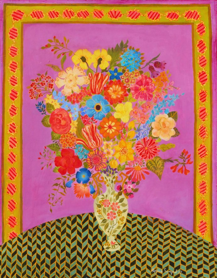 Hepzibah Swinford, Carnations, 2012