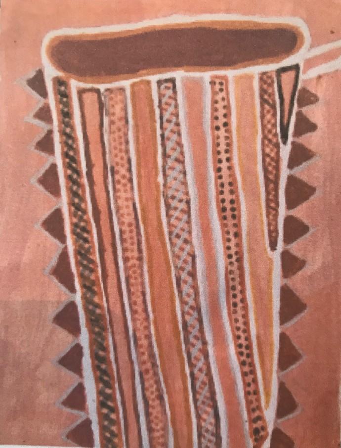 Jean Baptiste Apuatimi, tunga / Nguiu Bathurst Island, 2009