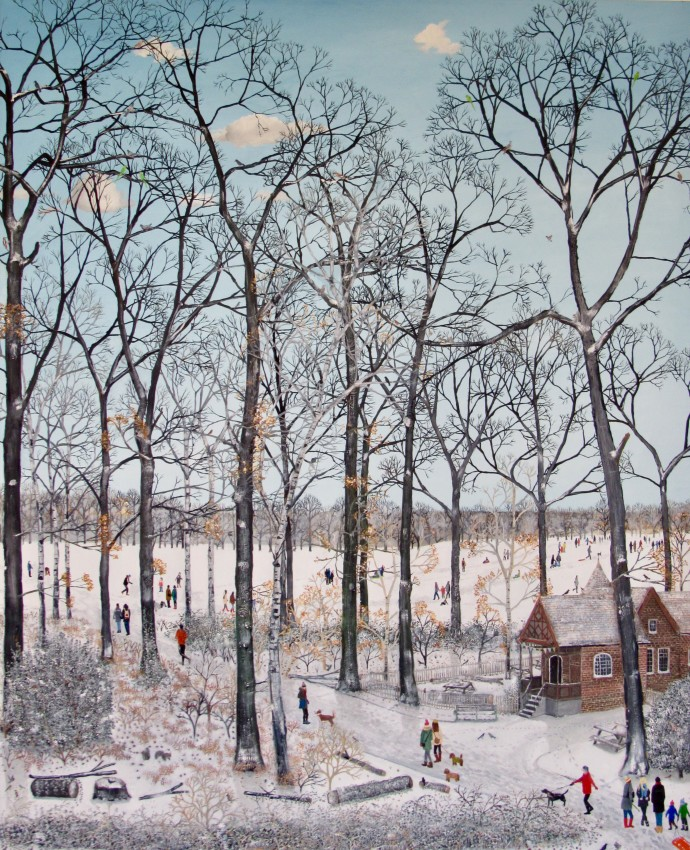 Emma Haworth, Winter Sunshine, 2018