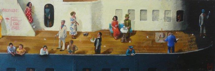 Sylvain Lefebvre, Cards on the Deck, 2013