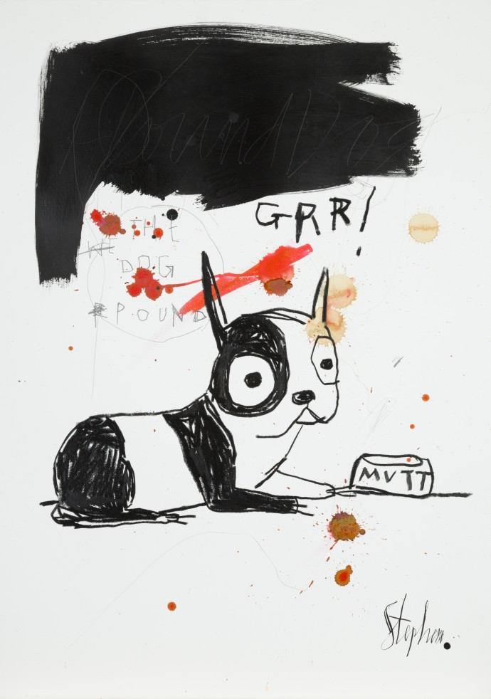 Stephen Anthony Davids, GRRRRR, 2014