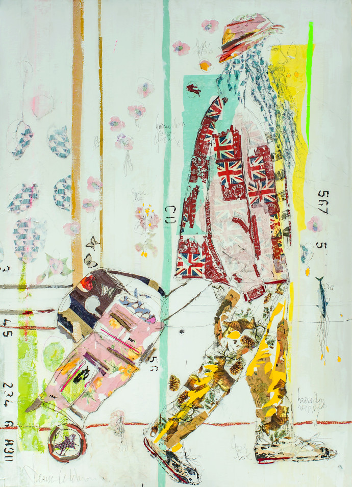 <div class=&#34;artist&#34;><strong>Mersuka Dopazo and Teresa Calder&#243;n</strong></div><div class=&#34;title&#34;><em>Mezquiades</em>, 2017</div><div class=&#34;medium&#34;>paper, fabric and pigment on canvas</div><div class=&#34;dimensions&#34;>200 x 145 cm<br>78 3/4 x 57 1/8 in</div>