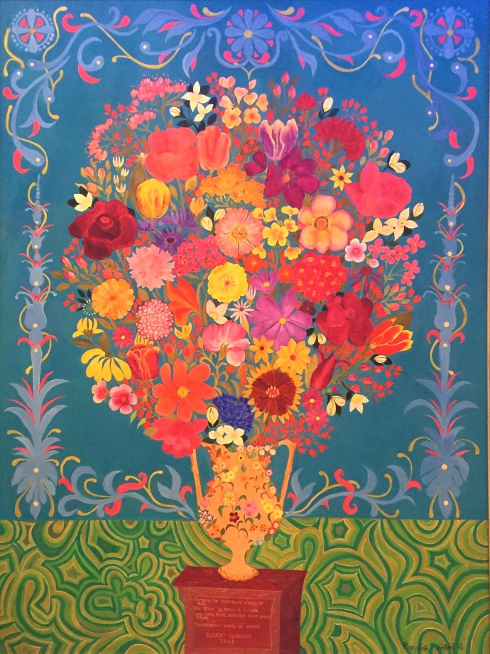 Hepzibah Swinford, Gather ye Rosebuds, 2014