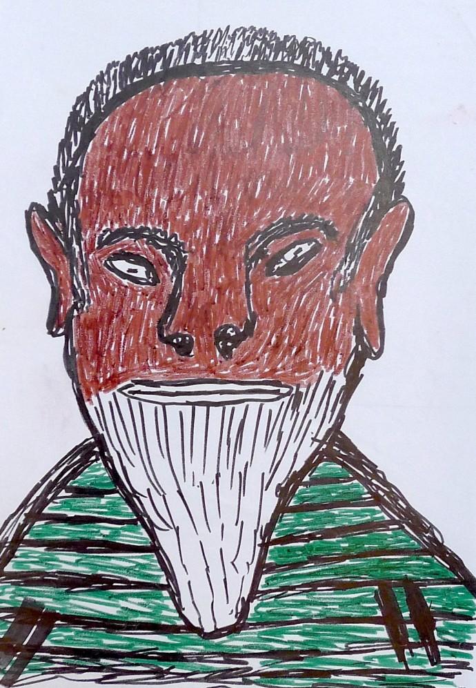 Jimmy Pike, Jimmy Pike — self portrait