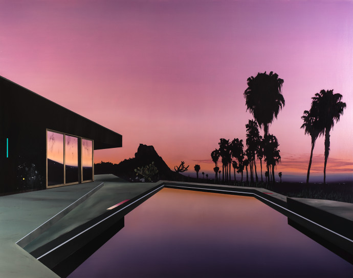 Laurence Jones, Palms At Daybreak, 2016