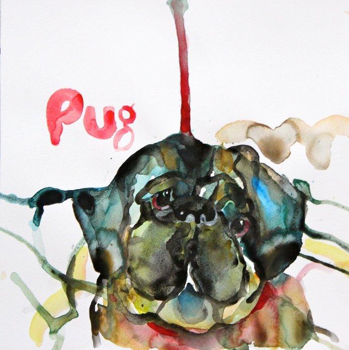 Peter Clark, Hidden Pug, 2014