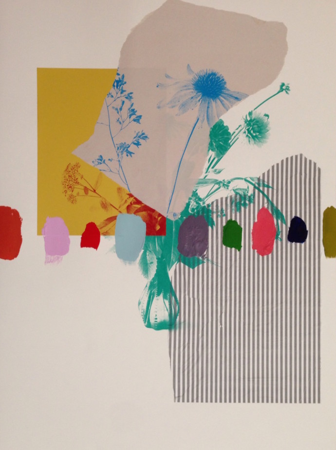 Emily Filler, Paper Bouquet II, 2016
