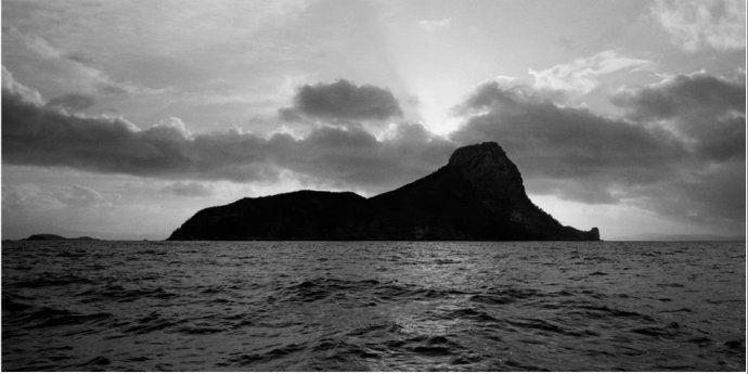 Robin Forster, Coastal Profile #6 (Pentecost Island, The Whitsundays, Queensland, Australia), 2006