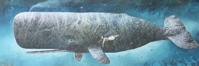 Sylvain Lefebvre, Deep Waters n°29 / Antonio meeting a whale, 2019