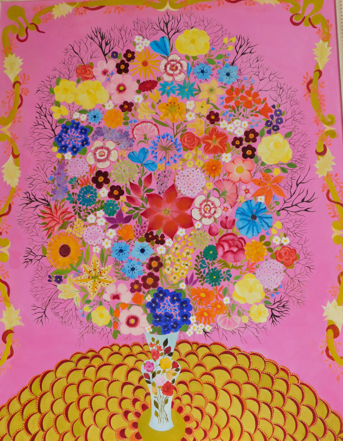 Hepzibah Swinford, Yellow Roses, 2016