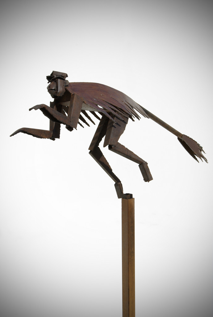 Iain Nutting, Leaping Colobus Monkey, 2011