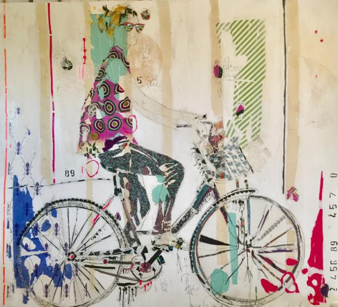 <div class=&#34;artist&#34;><strong>Mersuka Dopazo and Teresa Calder&#243;n</strong></div><div class=&#34;title&#34;><em>Soto Ayam</em>, 2017</div><div class=&#34;medium&#34;>paper, fabric and pigment on canvas</div><div class=&#34;dimensions&#34;>180 x 200 cm<br>70 7/8 x 78 3/4 in</div>