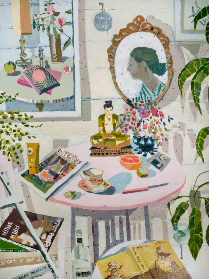 Zoe Young, Tokyo Gin Club / Friday afternoon in the studio, 2017