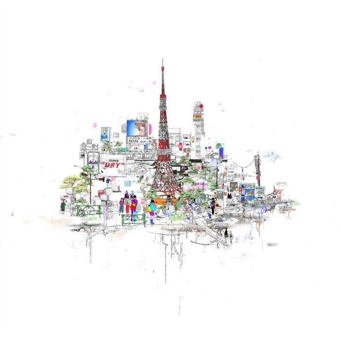 Laura Jordan, Tokyo Tower, 2016