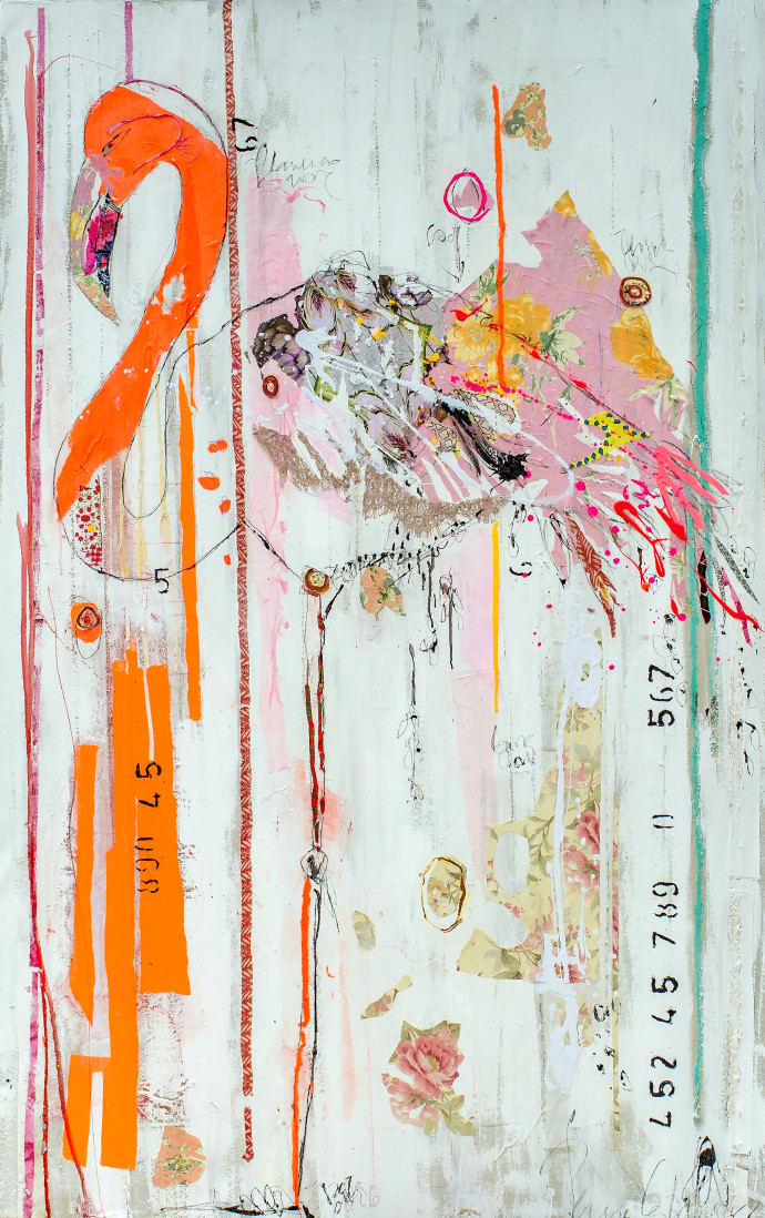 <div class=&#34;artist&#34;><strong>Mersuka Dopazo and Teresa Calder&#243;n</strong></div><div class=&#34;title&#34;><em>Made Warung</em>, 2017</div><div class=&#34;medium&#34;>paper, fabric and pigment on canvas</div><div class=&#34;dimensions&#34;>190 x 120 cm<br>74 3/4 x 47 1/4 in</div>