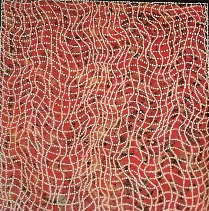Malcolm Jagamarra, Kalubarr (Man's Dreaming), 2001