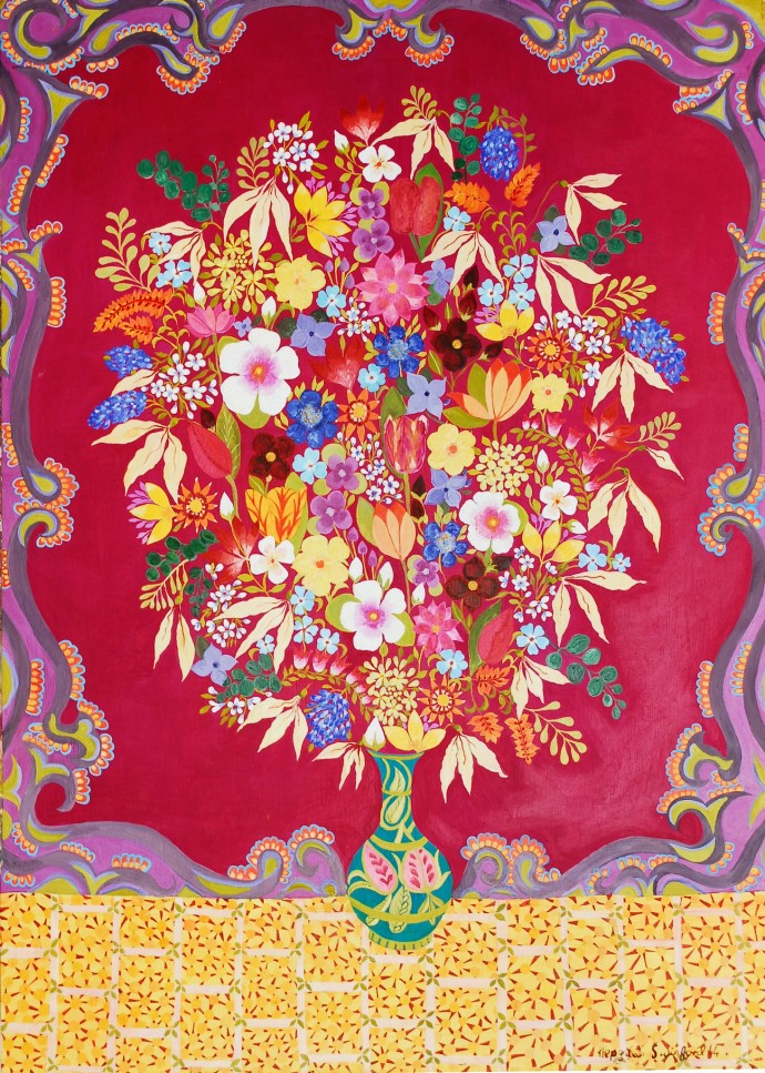 Hepzibah Swinford, Russian Flowers, 2014