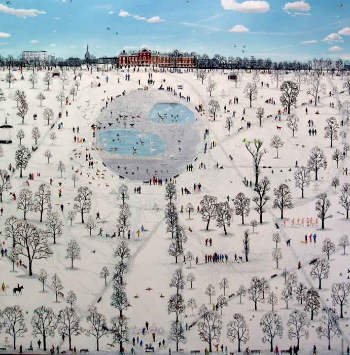 Emma Haworth, Kensington Gardens Map Series, 2014