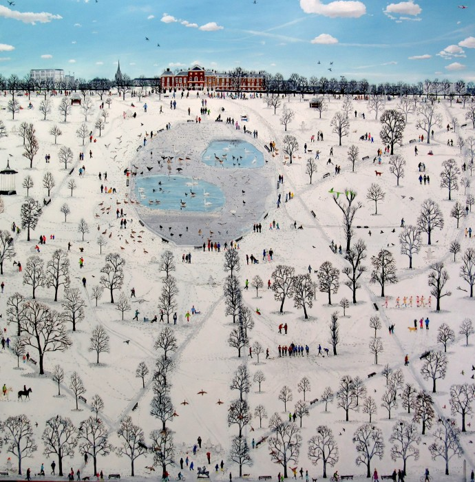Emma Haworth, Kensington Gardens Map Series, 2014