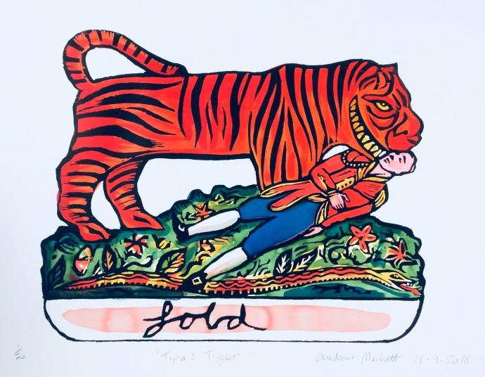 Andrew Mockett, Tipu's Tiger, 2018