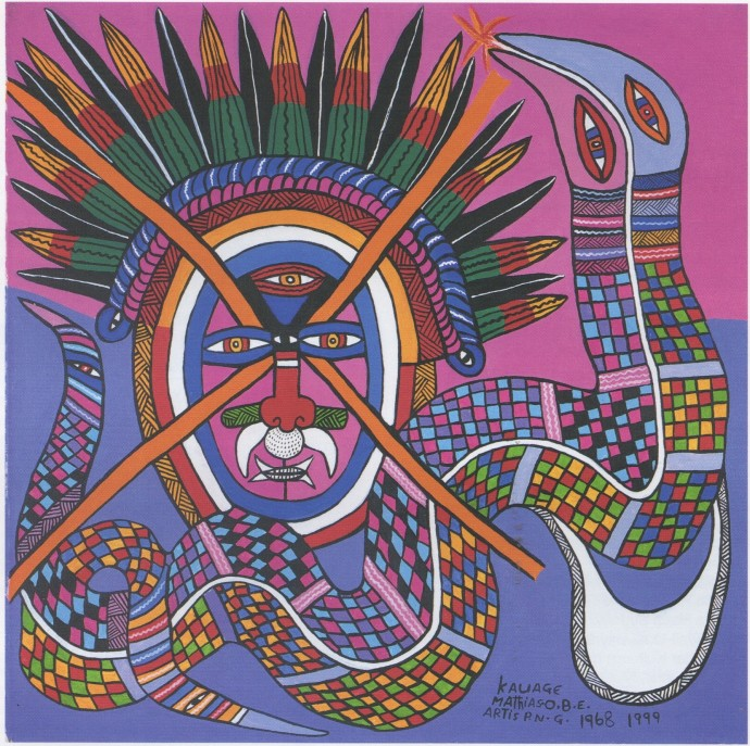 Mathias Kauage, Masalai - Spirit Man, '99