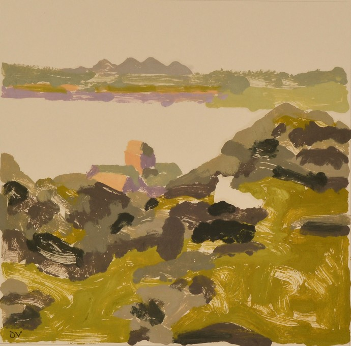 Dione Verulam, The Lost Sheep, Iona (II), 2014