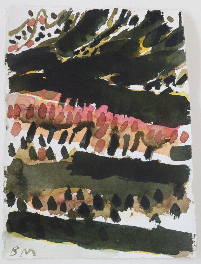 Barbara Macfarlane, Fruit Trees Baronnies 2, 2019