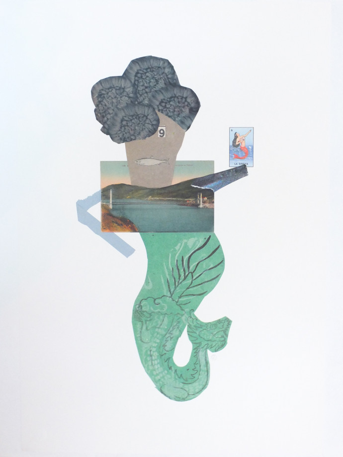 Jerry Jeanmard, Mermaid IV, 2017