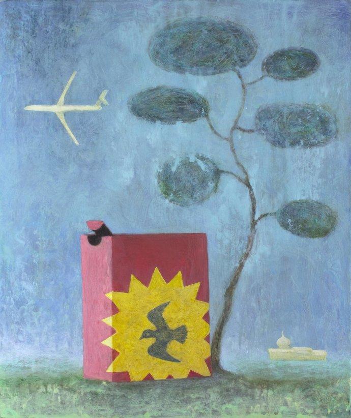Alasdair Wallace, Bird Seed, 2013