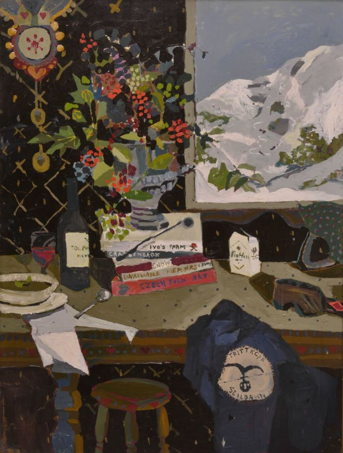 Zoe Young, Pinot in the snow, 2017