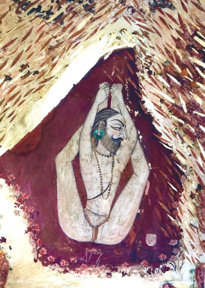 Katherine Virgils, Yogi Large No. 48, 2016