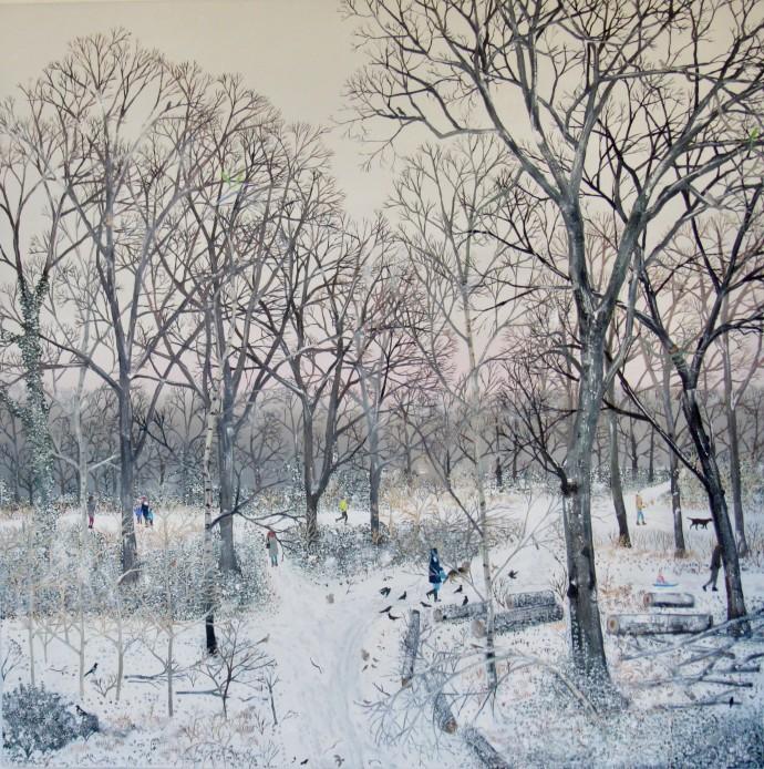 Emma Haworth, Winter Snow I, 2018