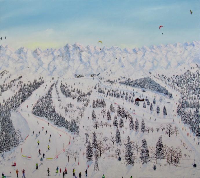 Emma Haworth, Alps II, 2019