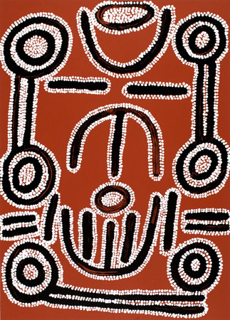 Ronnie Lawson Tjakamarra, Woman's Dreaming, 2003