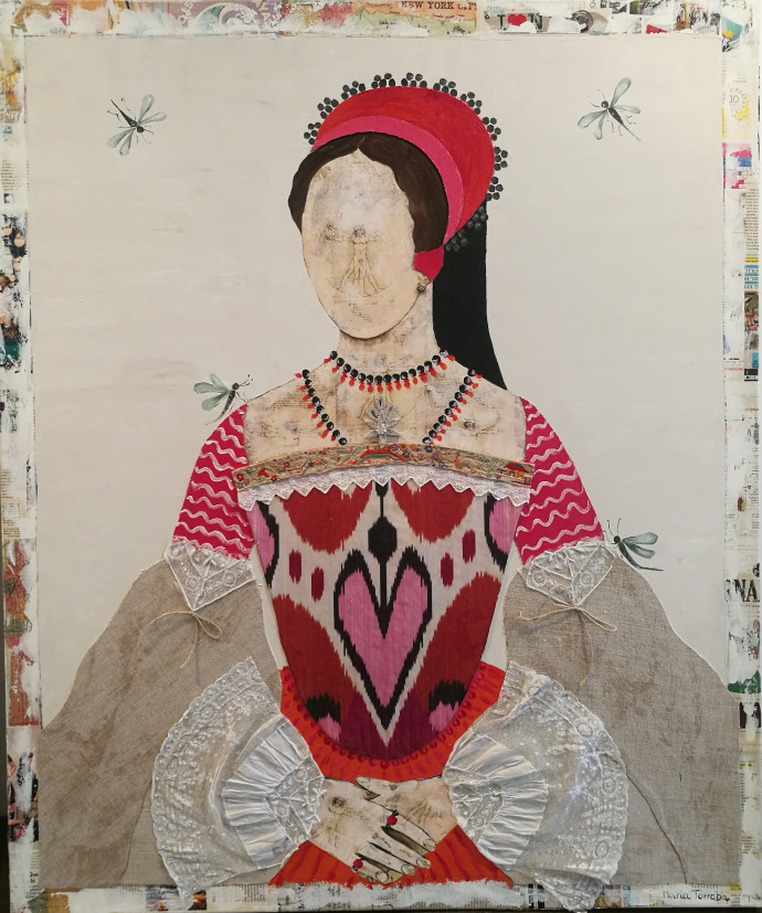 Maria Torroba, Queen Ikkat And The Dragonfly, 2017