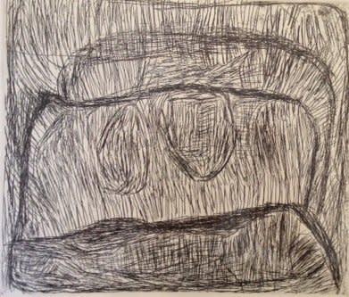 Nyuju Stumpy Brown, Untitled, 1997