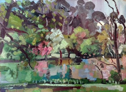 <div class=&#34;artist&#34;><strong>Jamie Boyd,&#160;</strong><em style=&#34;line-height: 1.5em;&#34;>The lake at Bundanon, Autumn</em><span style=&#34;line-height: 1.5em;&#34;>, 2012,&#160;</span><span style=&#34;line-height: 1.5em;&#34;>Oil on Board,&#160;</span><span style=&#34;line-height: 1.5em;&#34;>32 x 23cm</span></div>
