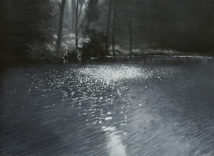 <div class=&#34;artist&#34;><strong>Sheila Clarkson</strong></div><div class=&#34;title&#34;><em>Water, Air, Light</em>, 2015</div><div class=&#34;medium&#34;>pastel on paper on card</div><div class=&#34;dimensions&#34;>75 x 102 cm<br>29 1/2 x 40 1/8 in</div>