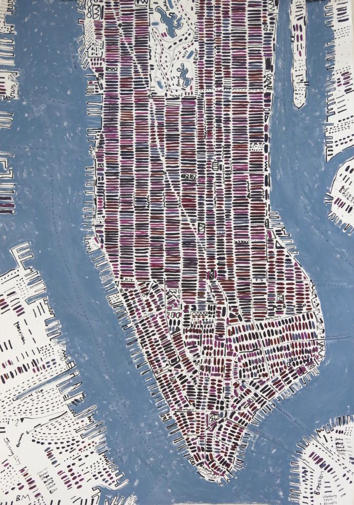 Barbara Macfarlane, Brinjal Manhattan, 2017