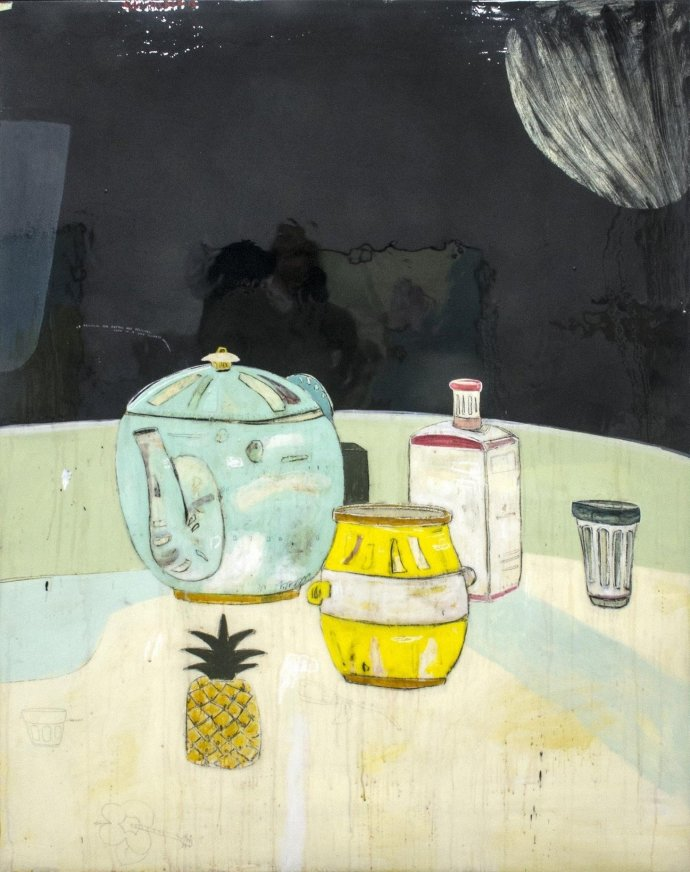 Rob Tucker, tropical tea breaks are delicious, even in a cold climate, 2013