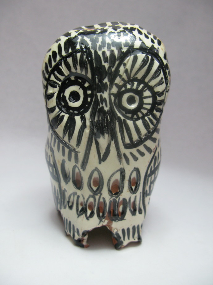 Aaron Murray, Terracotta Owl 2, 2018