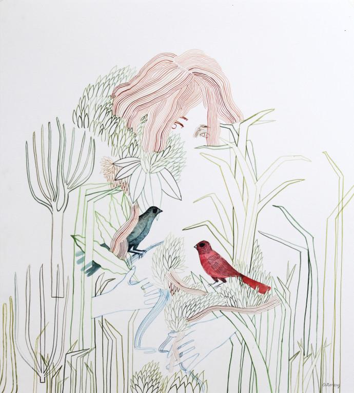 Ashley Amery, Birds, 2017