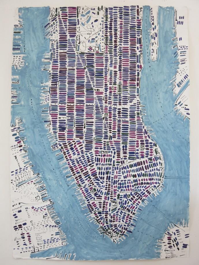 Barbara Macfarlane, Blueberry Manhattan, 2015