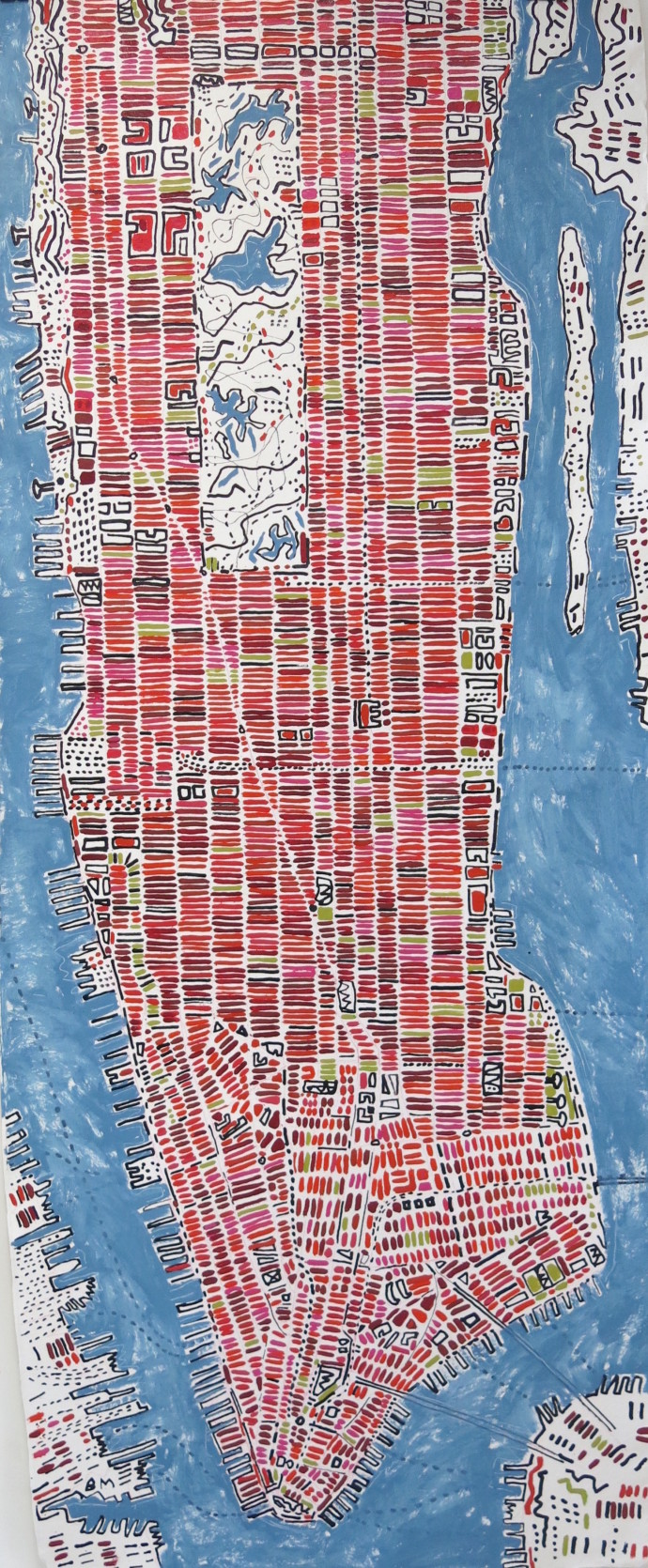 <div class=&#34;artist&#34;><strong>Barbara Macfarlane</strong></div><div class=&#34;title&#34;><em>Long Manhattan Rosehip</em>, 2017</div><div class=&#34;medium&#34;>oil and ink on handmade Khadi paper</div><div class=&#34;dimensions&#34;>200 x 80 cm<br>78 3/4 x 31 1/2 in</div>