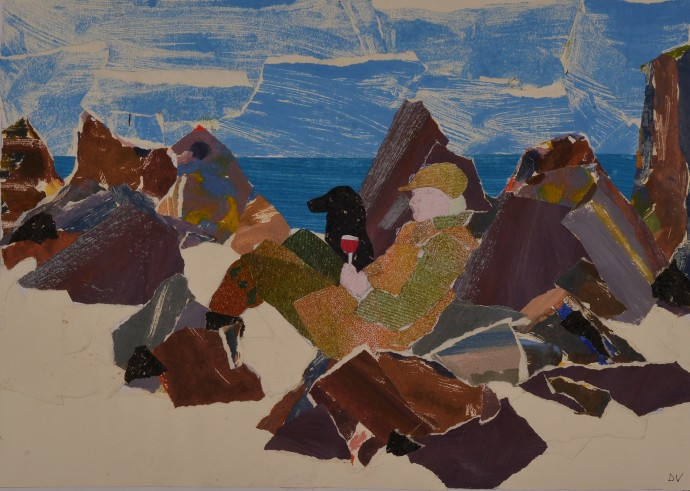<div class=&#34;artist&#34;><strong>Dione Verulam</strong></div><div class=&#34;title&#34;><em>Picnic on Iona</em>, 2014</div><div class=&#34;medium&#34;>collage</div><div class=&#34;dimensions&#34;>28 x 41 cm<br>11 x 16 in</div>
